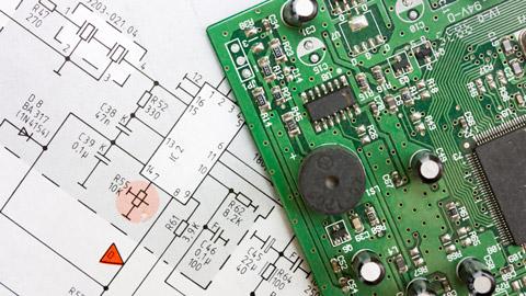 เครื่องแลกบัตร bitVisitor PCB design
